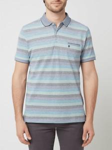 Koszulka polo Pierre Cardin w stylu casual z krótkim rękawem z bawełny