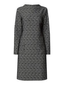 Czarna sukienka Gerry Weber w stylu casual z długim rękawem