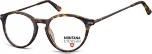 Stylion Okrągłe oprawki optyczne,lenonki korekcyjne Montana MA63B panterka mix