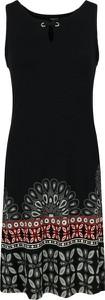 Sukienka Desigual z okrągłym dekoltem midi