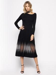 Sukienka Patrizia Pepe midi z długim rękawem