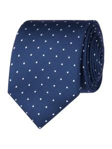 Niebieski krawat Christian Berg Men z jedwabiu