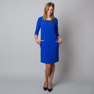 Sukienka Willsoor midi z długim rękawem prosta