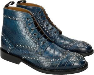 Granatowe buty zimowe Melvin & Hamilton sznurowane