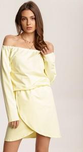 Żółta sukienka Renee hiszpanka