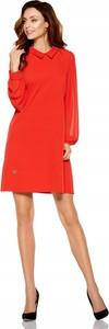 Sukienka Inna mini z długim rękawem