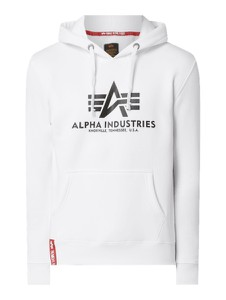 Bluza Alpha Industries z nadrukiem w młodzieżowym stylu