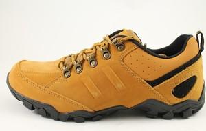 Żółte buty trekkingowe McArthur sznurowane