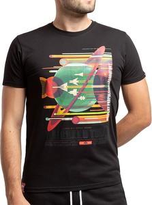 T-shirt Alpha Industries w młodzieżowym stylu z bawełny z krótkim rękawem