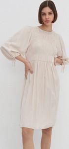 Sukienka House z długim rękawem z okrągłym dekoltem w stylu casual