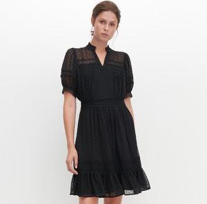 Sukienka Reserved z tkaniny