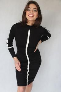 Sukienka Endoftheday mini z długim rękawem dopasowana