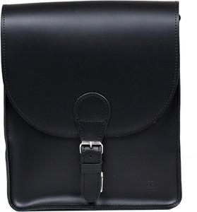 Czarna torba Slontorbalski ze skóry