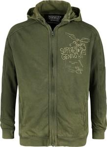 Zielona bluza Emp z bawełny