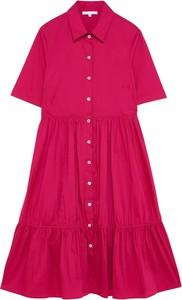 Różowa sukienka Patrizia Pepe w stylu casual