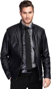 Czarna kurtka Giacomo Conti w stylu casual