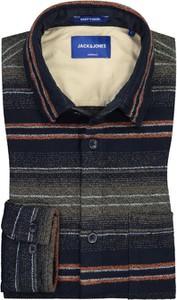 Koszula Jack & Jones z klasycznym kołnierzykiem z długim rękawem z bawełny