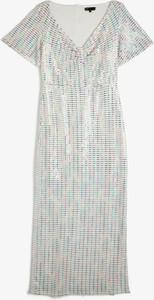 Sukienka Koton z dekoltem w kształcie litery v