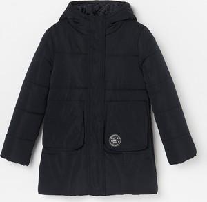 Czarna kurtka dziecięca Reserved
