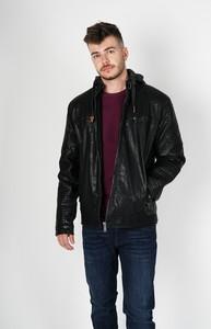 Czarna kurtka EXTREME w stylu casual