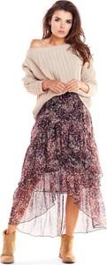 Spódnica Awama z tiulu w stylu boho