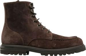 Buty zimowe Brunello Cucinelli sznurowane