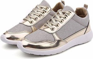 Buty sportowe Yaze sznurowane na koturnie