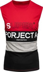 T-shirt Recea w młodzieżowym stylu