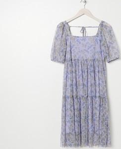 Sukienka Sinsay mini z krótkim rękawem