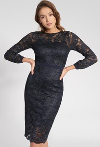 Granatowa sukienka QUIOSQUE