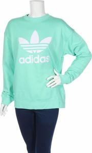Zielona bluzka Adidas Originals z długim rękawem