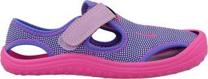 Niebieskie buty dziecięce letnie Nike