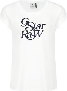 T-shirt G-Star Raw w młodzieżowym stylu z krótkim rękawem