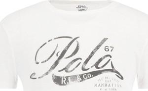 T-shirt POLO RALPH LAUREN z krótkim rękawem w młodzieżowym stylu