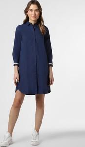 Niebieska sukienka 0039 Italy mini
