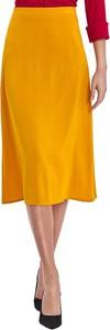 Żółta spódnica Colett midi