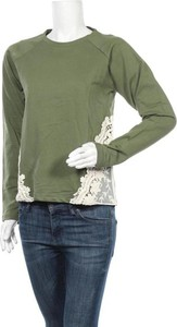 Zielona bluzka Suite Blanco z okrągłym dekoltem