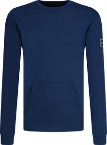 Niebieska bluza Guess w stylu casual