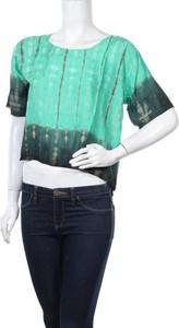 Zielona bluzka Ipanima z krótkim rękawem