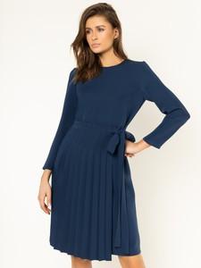 Sukienka Max & Co. z długim rękawem midi