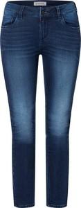 Niebieskie jeansy Timezone w stylu casual z bawełny
