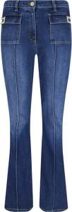 Niebieskie jeansy Elisabetta Franchi
