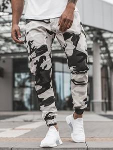 Spodnie ozonee.pl w militarnym stylu