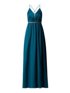 Niebieska sukienka Jake*s rozkloszowana na ramiączkach maxi