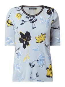 Niebieska bluzka Betty Barclay z okrągłym dekoltem