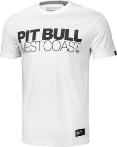 T-shirt Pit Bull z krótkim rękawem z bawełny