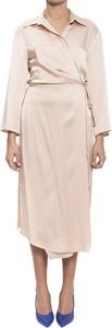 Sukienka Semicouture z długim rękawem