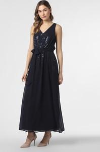Sukienka Esprit z dekoltem w kształcie litery v maxi