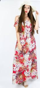 Czerwona sukienka Olika maxi