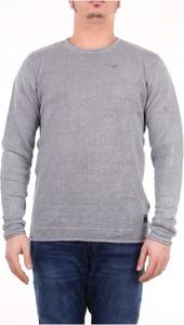 Sweter Replay z lnu z okrągłym dekoltem